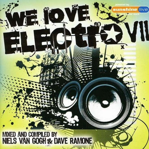 We Love Electro VII cover