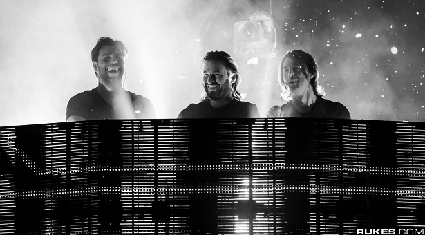 Die Swedish House Mafia beim HOPE Concert am 7.06.2013 in Berlin !