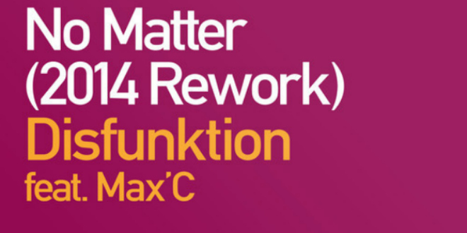 Disfunktion feat. Max'C – No Matter (2014 Rework)