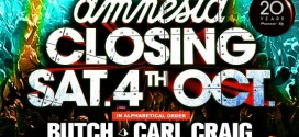 Amnesia Closing Party 2014 Livestream