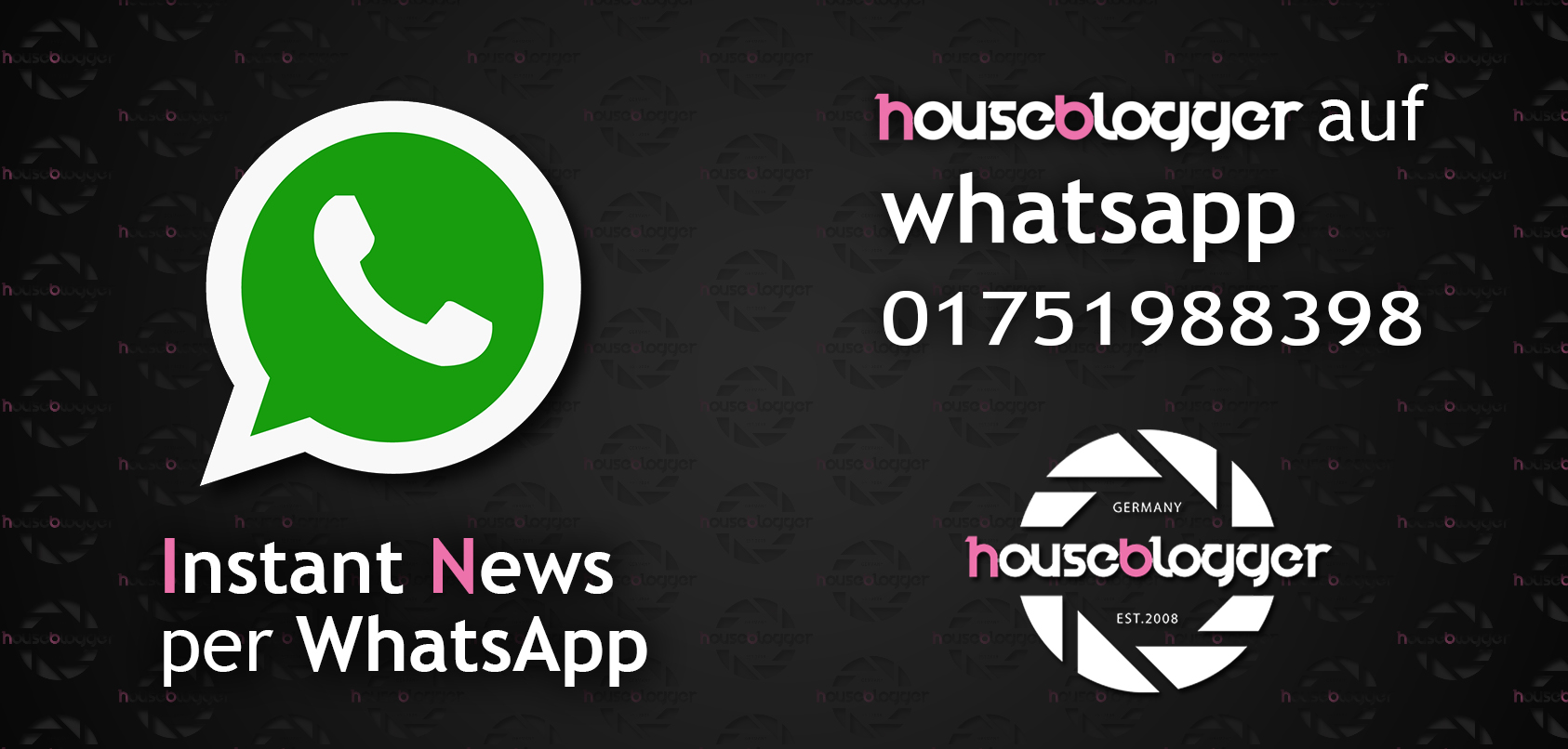 Houseblogger Whatsapp