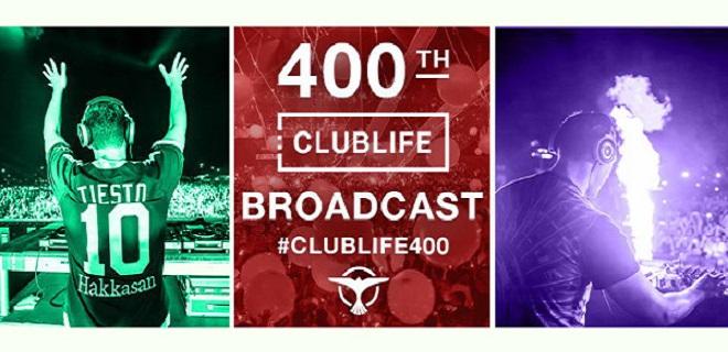 Tiesto's Club Life #400 – das MEGA SPECIAL